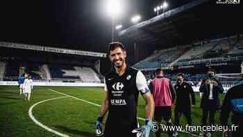 Héro du match à Auxerre Brice Maubleu est dans 100 % Passion GF38 - France Bleu