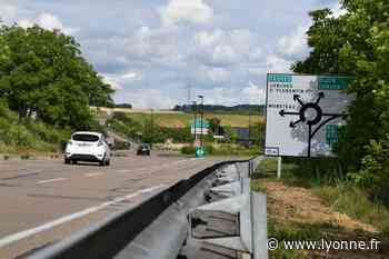 Carte - La circulation perturbée sur les RN 6 et 77 autour d'Auxerre à partir de ce lundi - L'Yonne Républicaine
