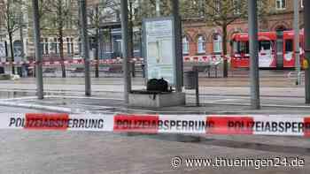 """Nordhausen: Bahnhofsvorplatz wegen """"herrenloser Tasche"""" gesperrt – DAS war drin - Thüringen24"""