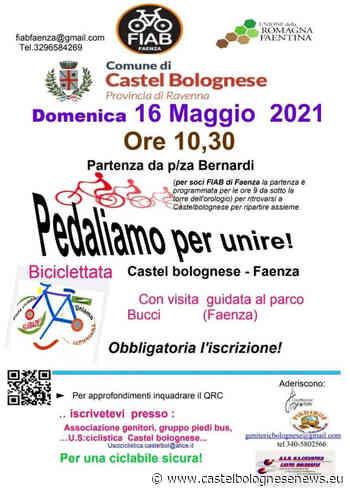 """Biciclettata """"Pedaliamo per Unire!"""" Castel Bolognese - Faenza, domenica 16 maggio • - CastelBolognese news"""
