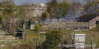 Rosny-sur-Seine - Un incendie se déclare dans les jardins familiaux | La Gazette en Yvelines - La Gazette en Yvelines