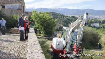 Nueva desbrozadora para limpiar 265 parcelas de difícil acceso de Granada - Granada Hoy