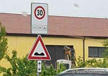 Limite di 30 all'ora per le moto: anche a Soliera gli stessi cartelli - La Pressa