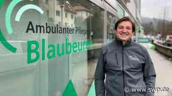 Pflegedienst Blaubeuren: Der neue Leiter liebt die Arbeit mit alten Menschen - SWP