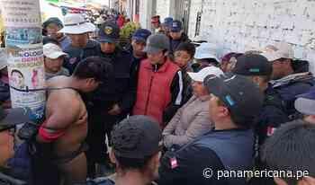 Ciudadanos de Huamachuco atraparon a delincuente tras robar balón de gas | Panamericana TV - Panamericana Televisión