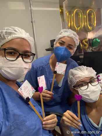 Hospital de Itumbiara homenageia mamães colaboradoras - DM.com.br