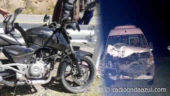 San Antón: Choque de moto y Mercedes Benz deja un fallecido - Radio Onda Azul