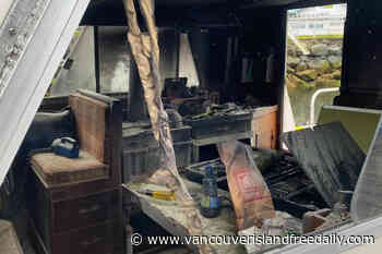 Fishing boat catches fire in Port Hardy, owner's quick thinking puts out flames – Vancouver Island Free Daily - vancouverislandfreedaily.com