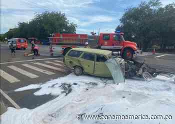 Accidente vehicular en El Espinal de Guararé deja dos personas heridas - Panamá América