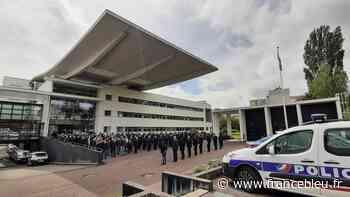 Des policiers et pompiers de Limoges s'associent à l'hommage national à Eric Masson, policier tué à Avignon - France Bleu