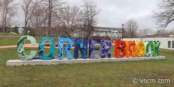City of Corner Brook Unveils Colourful New City Sign - VOCM