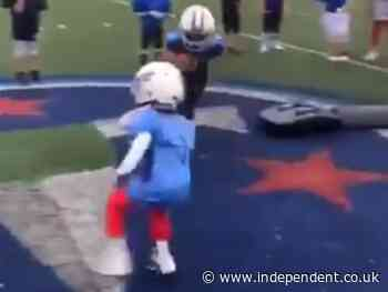 Video of kids football drill sparks online debate: 'This culture needs to change'