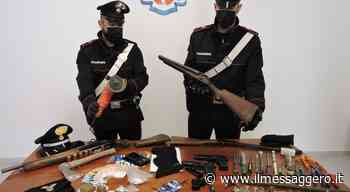 Genzano, arrestati 5 pericolosi criminali, avevano armi, arnesi da scasso e bomba carta - Il Messaggero