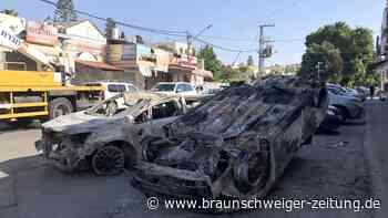 Israel-Newsblog: Berichte: Israel beschließt Ausweitung der Gaza-Angriffe