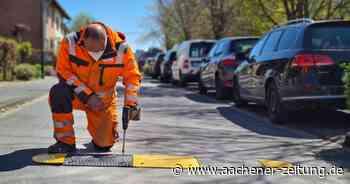 An Kitas und Schulen in Alsdorf: Fahrbahnschwellen gegen schnelle Autos - Aachener Zeitung
