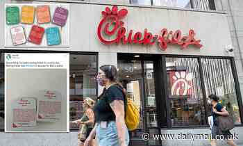 Chick-fil-A is limiting sauce to one packet per entrée because of 'supply chain disruptions'