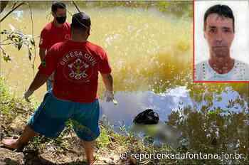 Corpo de homem é encontrado às margens de ribeirão em Cataguases MG. - reporterkadufontana.jor.br - Reporter Kadu Fontana
