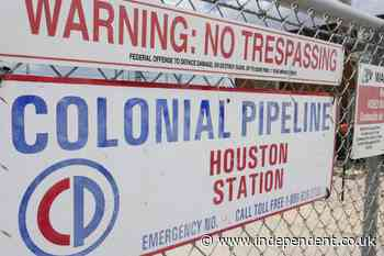Biden administration says Colonial Pipeline is restarting after cyberattack