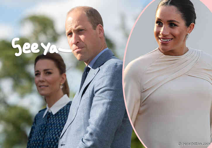 Royal Staffer Who Accused Meghan Markle Of Bullying QUITS Prince William & Kate Middleton's Foundation