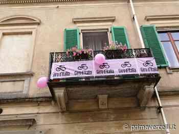 Tricerro in festa per il Giro d'Italia - Prima Vercelli