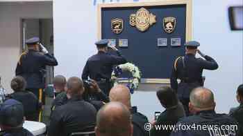 New memorial honors fallen Dallas police animals - FOX 4 Dallas