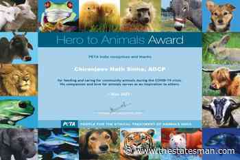 UP police officer gets PETA award for feeding animals - The Statesman