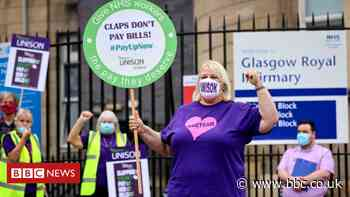 Scottish Unison members vote to accept NHS pay offer