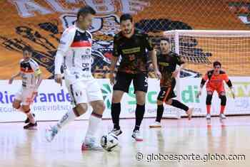 Carlos Barbosa é palco da primeira derrota do JEC/Krona na LNF 2021 - globoesporte.com