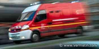 Une voiture prend feu à Roquebrune-sur-Argens après un choc frontal - Var-Matin