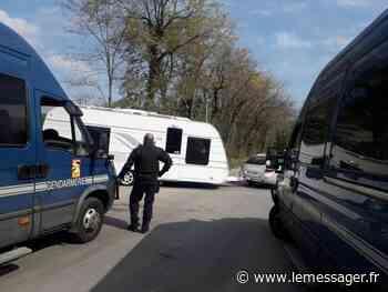Douvaine : les gens du voyage qui avaient forcé l'entrée de l'aire d'accueil ont été expulsés - Le Messager