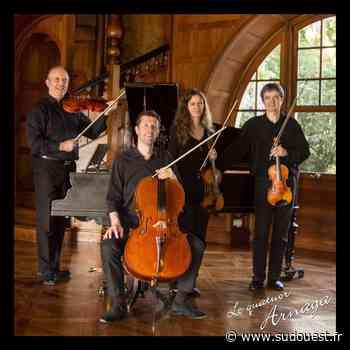 Cambo-les-Bains : le quatuor Arnaga programme son premier concert post-Covid - Sud Ouest