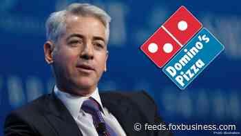 Billionaire Bill Ackman takes slice of Domino's Pizza