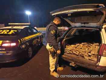 Após fuga e perseguição, PRF prende traficante em Laranjeiras do Sul – Correio do Cidadão - Correio do CIdadão