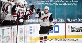 Arizona Coyotes win final game of the season 5-4 in overtime - Five for Howling