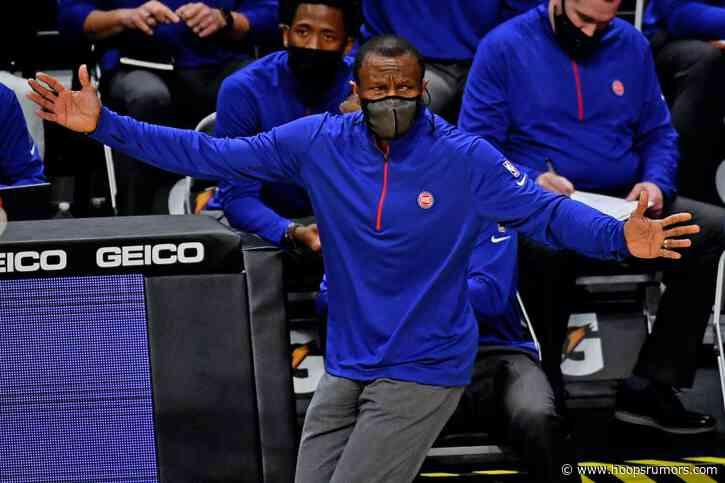 Pistons Extend Dwane Casey's Contract