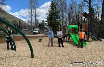 Sparling East Playground officially open   Elk Valley, Fernie - E-Know.ca