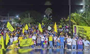 Ciudadanos reciben a Orlando Landín en Buena Vista y Barra de Cazones - NORESTE