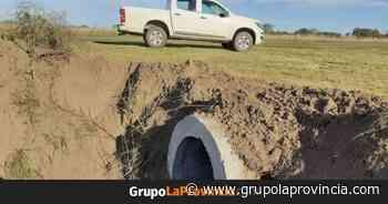 Tres Lomas: avanzan los trabajos en las zonas rurales - Grupo La Provincia