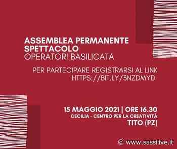 Operatori dello Spettacolo dal Vivo della Regione Basilicata lanciano un appello a Bardi, Cicala e Zullino - Sassilive.it