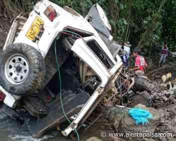Tres muertos y dos heridos en accidente de tránsito en Buriticá, Antioquia - Alerta Paisa