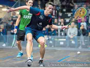 "Squash: PSC-Profi Raphael Kandra spielt am Freitag bei den ""Black Ball Open"" in Kairo gegen den Briten Patrick Rooney: ""Ich gehe meinen Weg"" - Westfalen-Blatt"