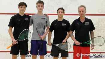 Die Ungewissheit nervt: Bundesligapremiere des Squash-Clubs Hasbergen zum zweiten Mal verschoben - NOZ