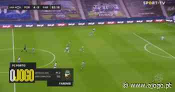 FC Porto-Farense: João Mário aumenta a vantagem com um belo golo - O Jogo