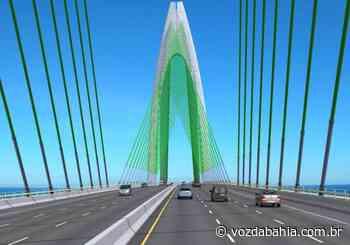 Governador diz que obras da Ponte Salvador-Itaparica devem iniciar em novembro - Voz da Bahia
