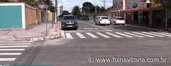 VÍDEO | Mulher é agredida por criminosos durante assalto em Itaparica, Vila Velha - Folha Vitória
