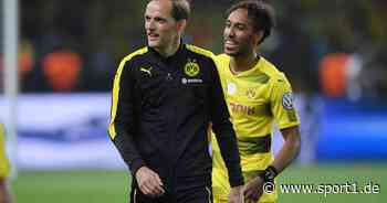 So trickste Thomas Tuchel bei Pierre-Emerick Aubameyang in BVB-Zeit - SPORT1