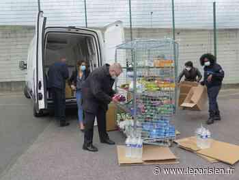 Osny : des détenus à la Maison d'arrêt aident les Restos du coeur - Le Parisien