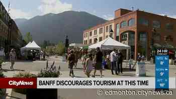 Banff asks visitors to stay home - CityNews Edmonton