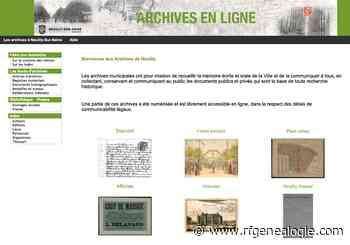 Neuilly-sur-Seine : les listes électorales en ligne jusqu'à 1950 - La Revue française de Généalogie