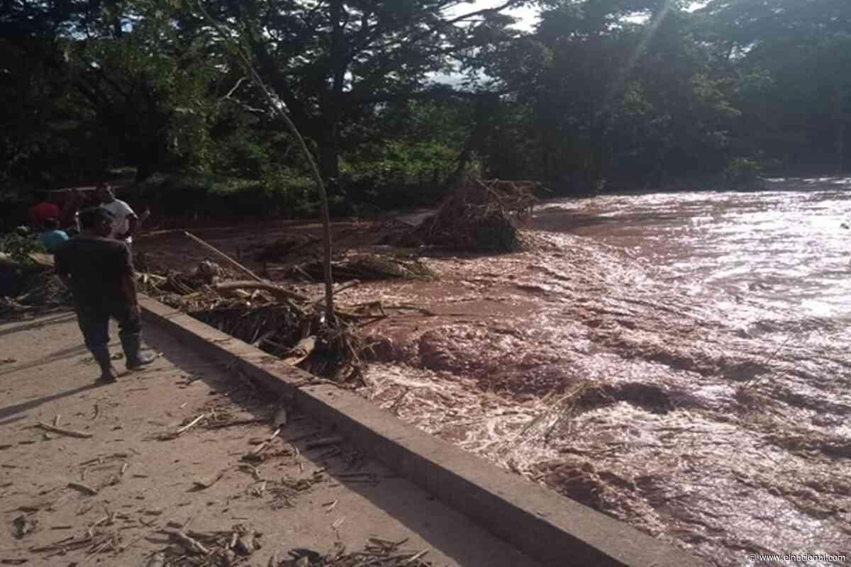 Un hombre y una niña murieron tras desbordamiento de un río en Machiques - El Nacional